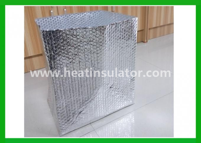 Soild Shipping Protective Insulated Foil Bags Silver Foil