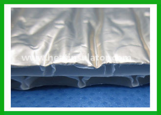 China Recycled Bubble Foil Insulation Aluminum Foil Blanket Insulation supplier