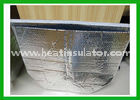China Self - Sealing Silver Metallic Bubble Insulated Foil Bags For Vegetable Shipping factory