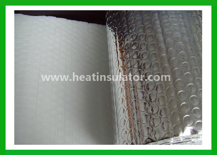 Bubble aluminum foil fireproof insulation blanket for roof for Fireproof wall insulation
