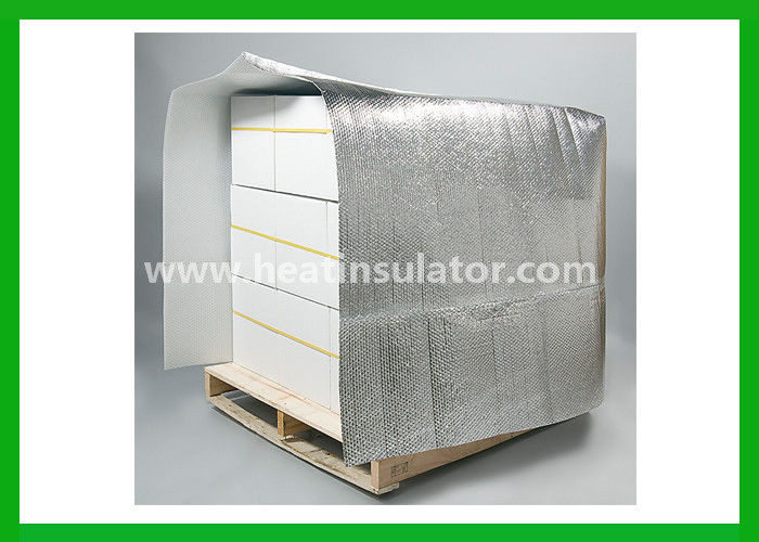 Silver Reflective Insulated Pallet Covers Thermal Cooler