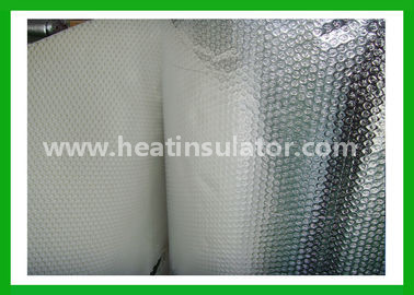 China Moisture Sun Protection Silver Foil Insulation Foil Wrapped Insulation Rolls Good Sealing distributor