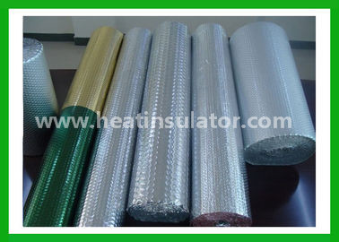 China Pure Aluminium Bubble Insulation Foil 4mm Keep Warm In Winter distributor